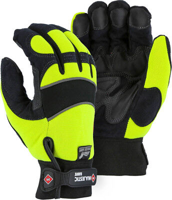 Majestic Glove 2145hyh Large Heatlok Waterproof Windproof Armor Skin Gloves