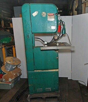 Walker Turner 16 Vertical Wood Band Saw Inv.30491