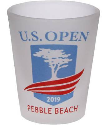 2019 US Open (Pebble Beach) FROSTED SHOT GLASS