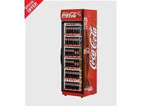 Coca Cola Frigoglass Super 76 single door upright fridge bottle cooler RRP £1,258
