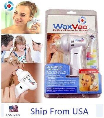 Original WaxVac Ear Cleaner Wax Remover Wax Vac As Seen On TV Brand New