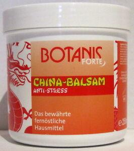 2 x 250ml Botanis China-Balsam Anti-Stress*19,98 € pro Liter*