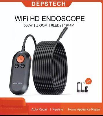 Depstech 2.0mp 5.0mp Wifi Endoscope Hd Inspection Camera Wireless Snake Camera