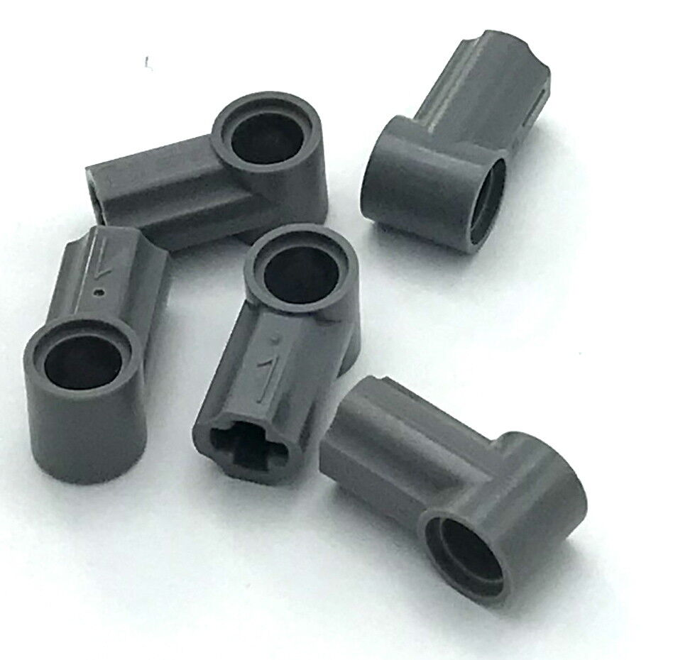 LEGO New Lot of 8 Dark Brown Technic Axle and Pin Connector Hub with 1 Axle