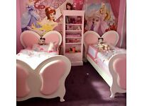 Little Lucy Willow Jemima Butterfly Beds - Exclusively handmade in the UK!