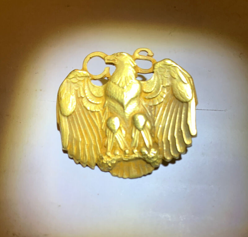 Girl Scouts of America 10 Karat Gold Golden Eaglet Pin 1930