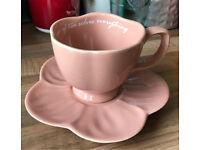 NEXT Floral Tea Cup & Saucer