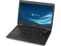 Dell Latitude E7440 laptop, Core i5, 4GB RAM, 500GB HDD, Windows 10 Professional 64bit