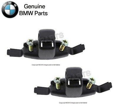 Genuine BMW Sun Visor Bracket Clip Black OEM e30 e36 e46 NEW 51168243576