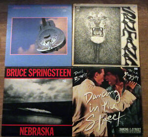 LPs/Records - Bowie, Jagger, Springsteen, Def Leppard,Kiss etc