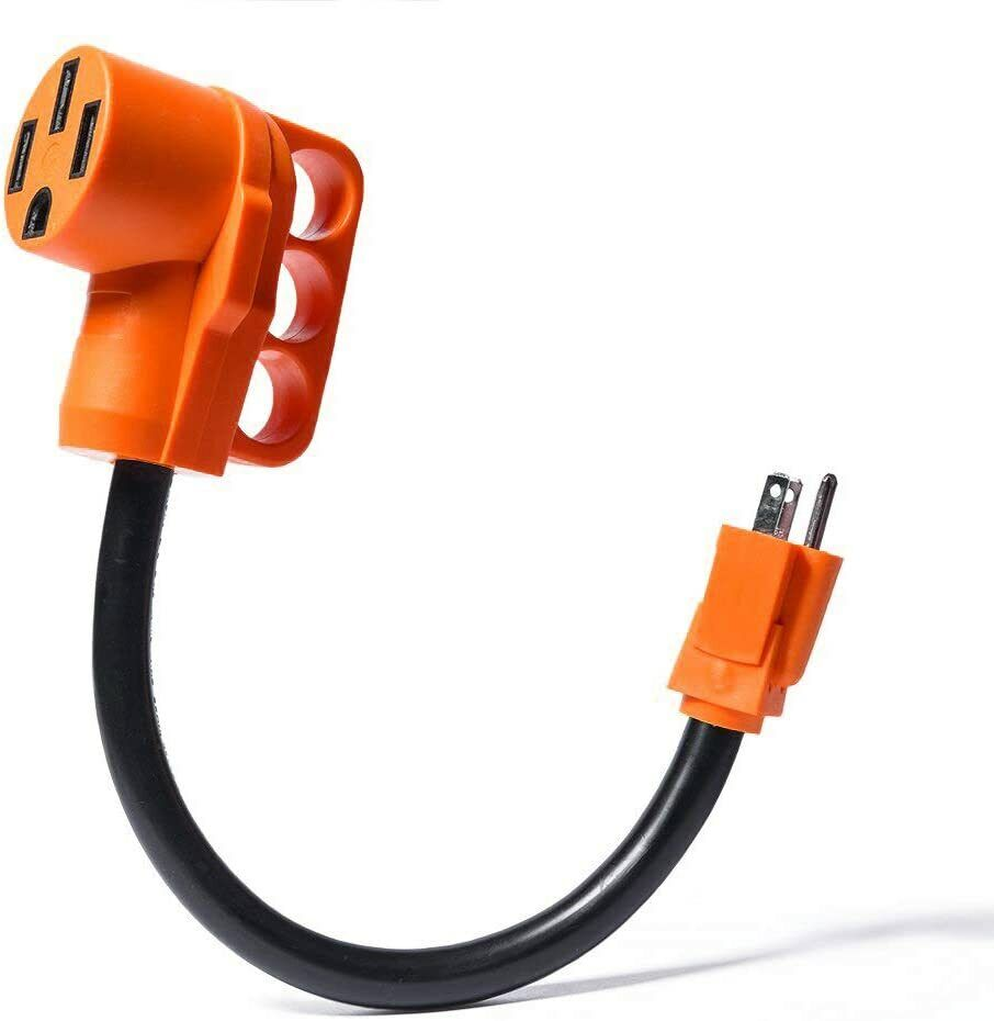 Dogbone RV/Electrical Adapter 15Amp Male to 50 Amp Female with Handle eBay Motors