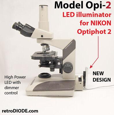 Model Optiphot-2 10 Watt Led Illuminator For Nikon Microscopes