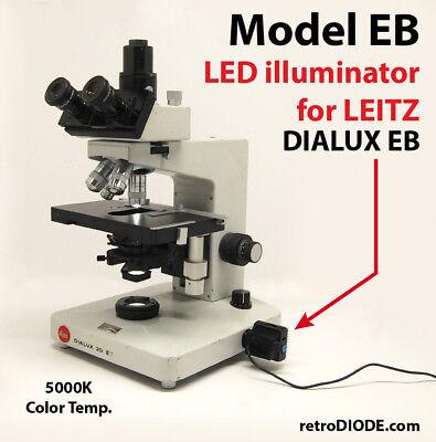 Led Illuminator Retrofit Kit With Dimmer Control For Older Leitz Microscopes.