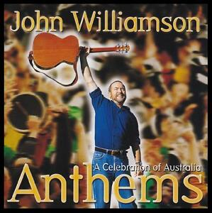 JOHN WILLIAMSON - ANTHEMS CD ~ AUSTRALIAN COUNTRY / FOLK ~ TRUE BLUE +++ *NEW*