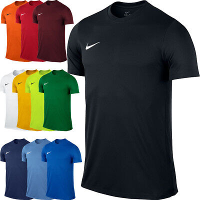 Nike MENS PARK T-Shirt Top Jersey Tee Gym Football Sports Training  S M L XL XXL