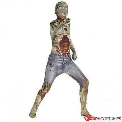 Morph-Anzug Zombie Kinder Monster Horror Unheimlich Gruselig Halloween - Morph Anzug Kostüm