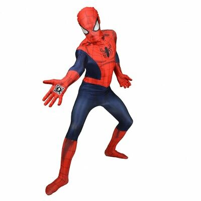 D - Costume Déguisement Spider-Man Digital Spider-Man Morphsuit Deluxe Taille M