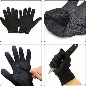 Stainless Steel Anti-cutting Gloves - Construction & Steelfixers Woodpark Parramatta Area Preview