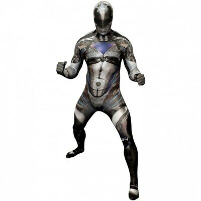 Black Morph Kostüm (POWER RANGERS MOVIE BLACK RANGER MORPH HALLOWEEN COSPLAY COSTUME NEW LARGE)