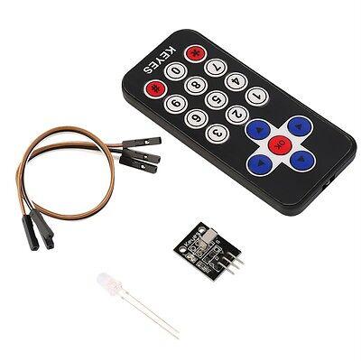 New Infrared IR Wireless Remote Control Receiver Module Kit for Arduino OK