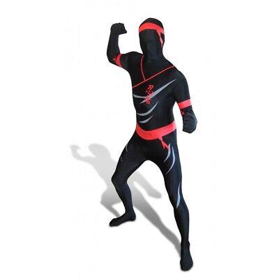 Ninja Morphsuit Morph Costume Original Official New Large
