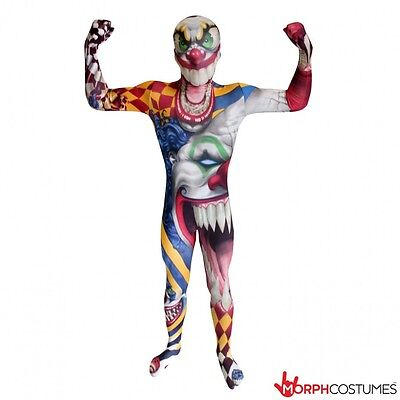 Morph-Anzug Clown Kinder Gruselig Monster Body Kinder Halloween Kostüm - Morph Kostüm Clown