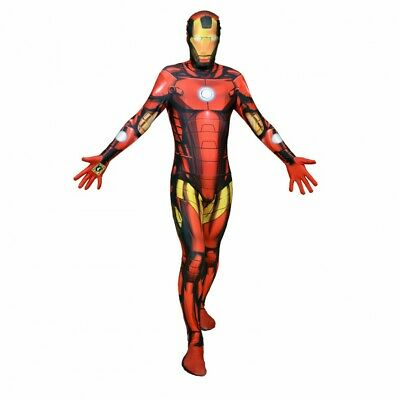 D - Costume Déguisement Iron man Digital Ironman Morphsuit Deluxe Taille L