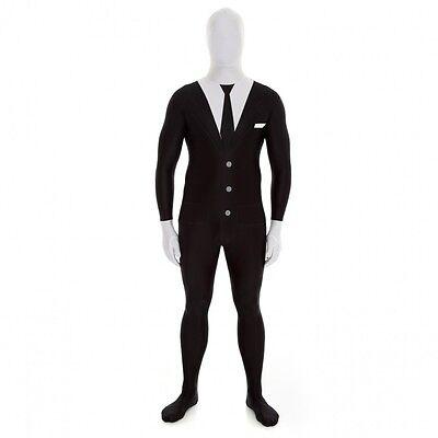 Slenderman Morphsuit for Adults sizes M & L Original Morphsuit - Morphsuit Sizes
