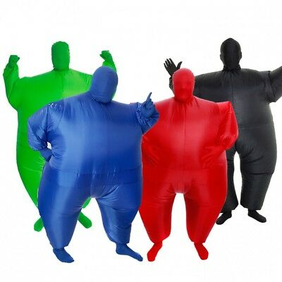 Blow Up Fat Suit (Kids Inflatable Megamorph Costume Blow Up Fat Suit Air Sumo By)