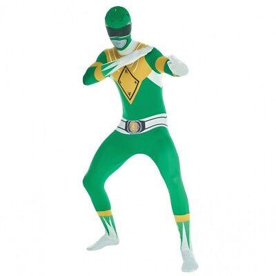 Morphsuits Men's Power Rangers Green Ranger Morphsuit Costume](Rangers Costume)