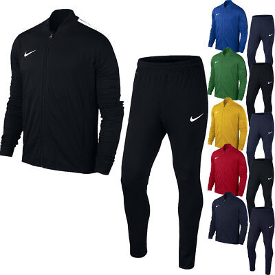 Nike Mens KNIT TRACKSUIT Full Zip Football Training Gym Jacket Top Pants Bottoms