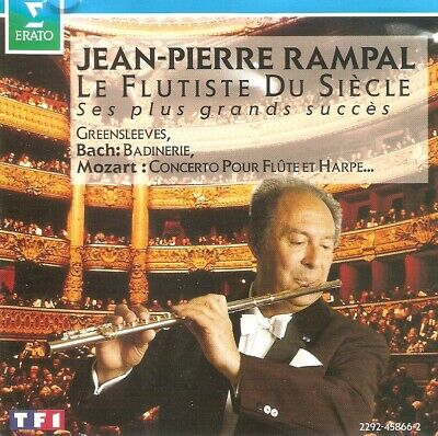 Jean-Pierre Rampal - Le Flûtiste Du Siècle (CD 1992)