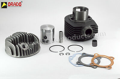 Vespa 3 Port Cylinder Head With Piston Kit Vespa Lml Px150