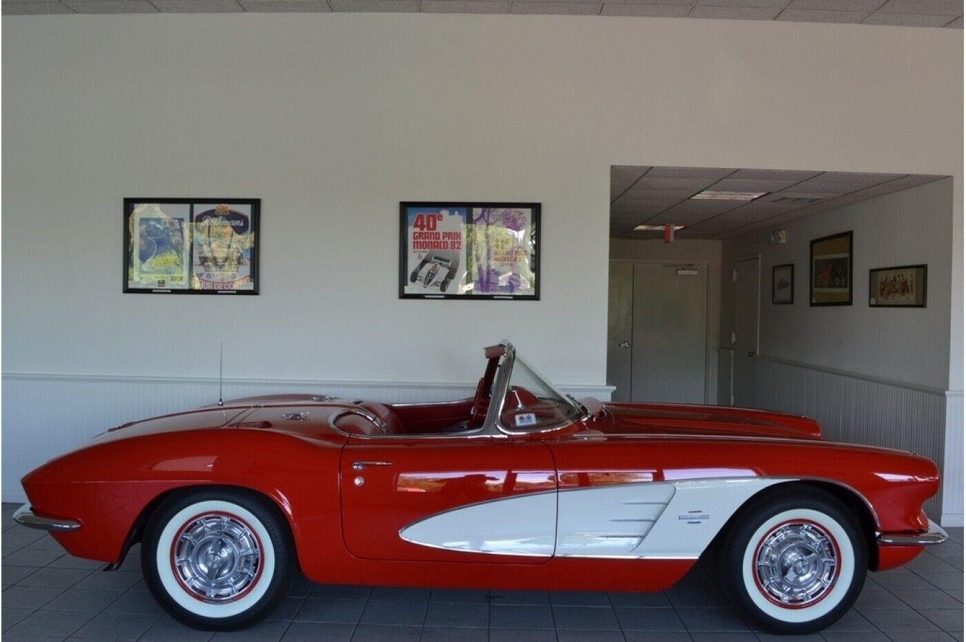 1961 Red Chevrolet Corvette   | C1 Corvette Photo 4