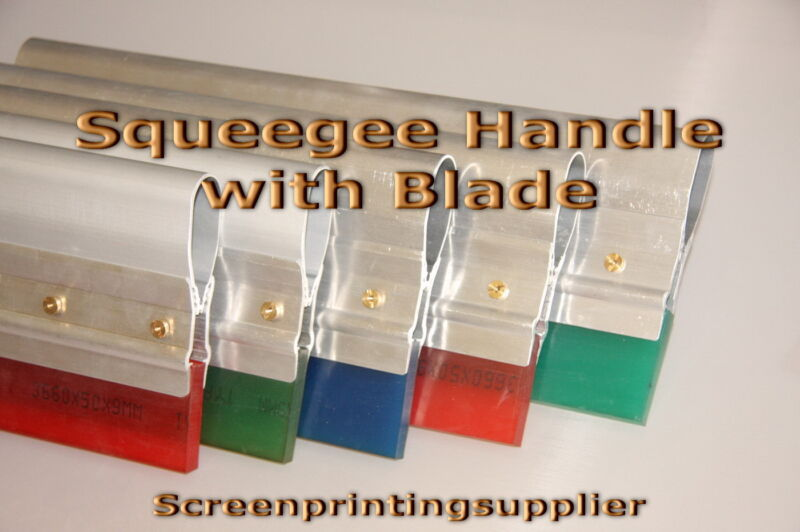 """12"""" Screen Printing Squeegee -Aluminum Handle with 70 Single Duro Blade"""