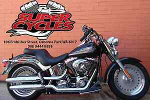 2008 HARLEY-DAVIDSON FLSTF SOFTAIL FATBOY Osborne Park Stirling Area Preview