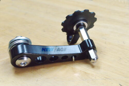 New BLACK Single Speed Bike Bicycle Chain Tensioner
