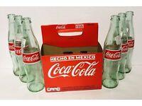 6 Pack Mexican Coca-Cola Cane Sugar Bottles 600ml Coke Hecho Mexico