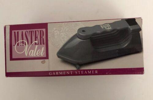 garment mini steamer 9x4 gray new in