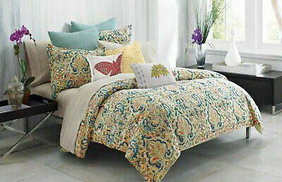 300 queen comforter set 4pcs batik medallion