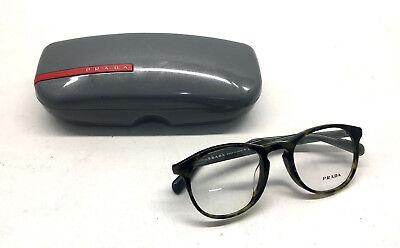 AUTHENTIC! Prada VPR 19S-F LAB 1O1 Men Women Eyeglasses Optical Frame DEMO (Prada Frames For Men)