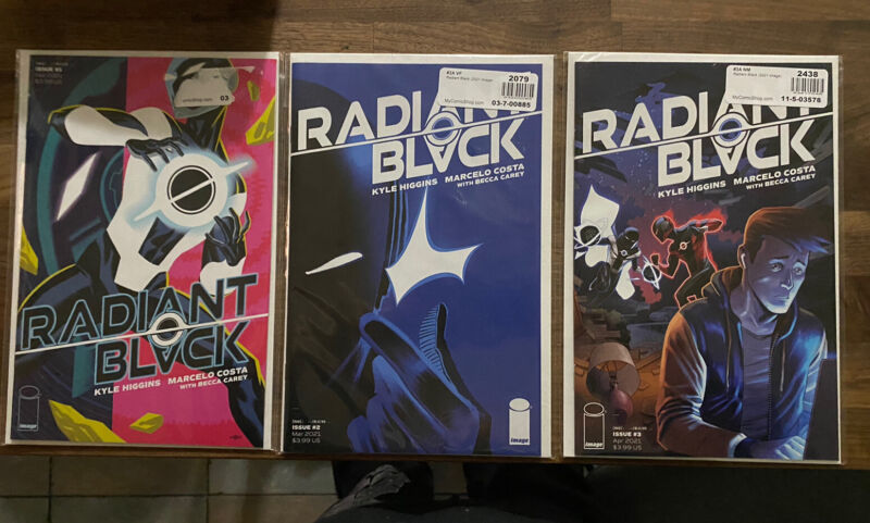 Radiant Black # 1, 2, 3 - Cover A