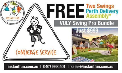 Vuly Pro 360 Swing Set Bundle + FREE Delivery + Free Assembly