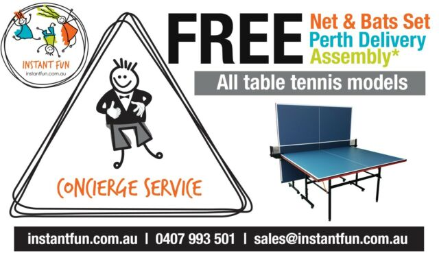 Table tennis free net bats free perth delivery other sports fitness gumtree australia - Gumtree table tennis table ...