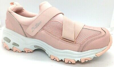 NEW Skechers Womens D'lites Best Bet Light Pink Walking (11913) Shoes Size 10