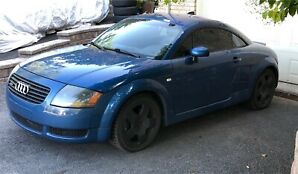 2001 Audi TT Quattro 225hp 6 speed low km