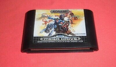 Megadrive 1 & 2 Sunset Riders [PAL] Original Sega *JRF*