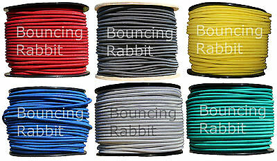 6mm Elastic Shock Cord, Bungee Rope, Tie Down: You choose colour and length