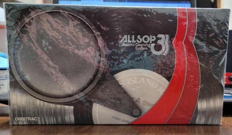 Vintage Orbitrac 58000 Allsop 3 Record Cleaning System for Vinyl Records