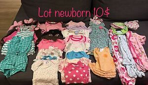 Lot newborn fille